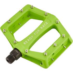 Cube RFR CMPT Flat Pedal grön